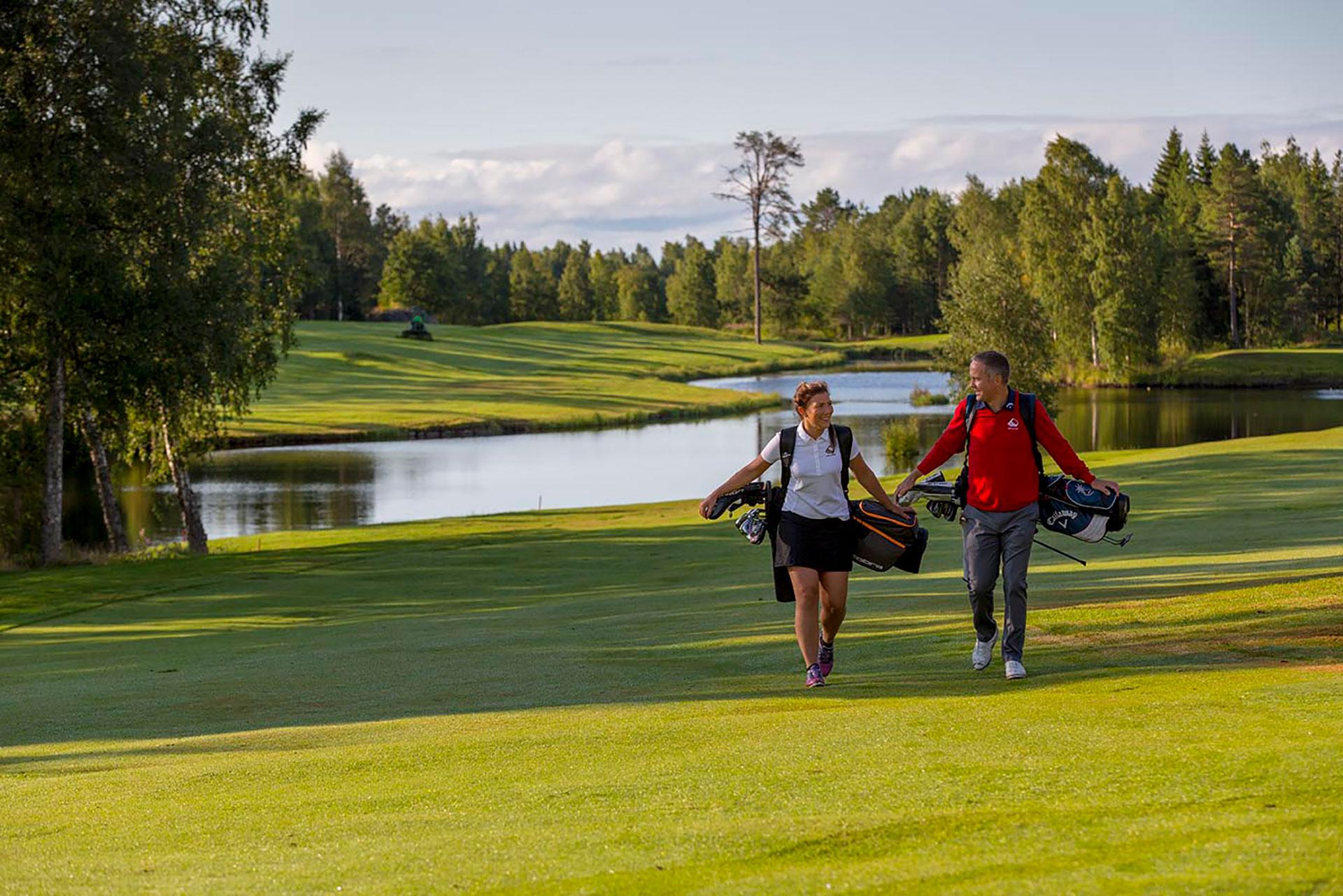 Boka tid på Umeå Golfklubb