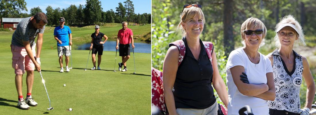 Ta grönt kort på Umeå Golfklubb