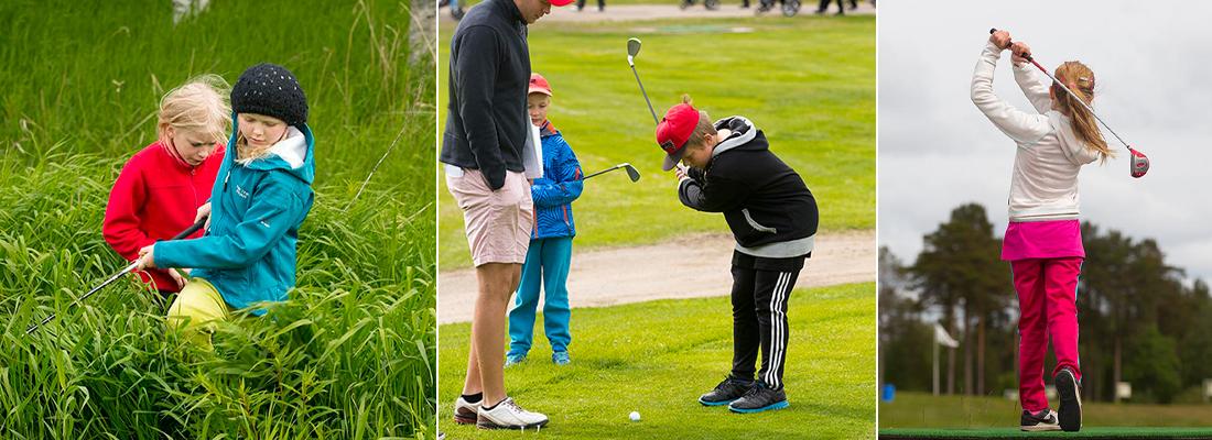 Juniorträning på Umeå Golfklubb