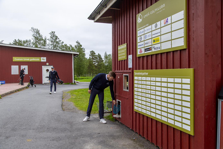 Träna golf på Umeå Golfklubb